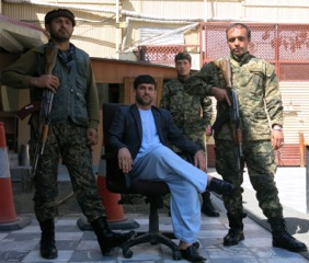 A Few of Our Afghan Security Guards.